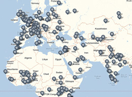 SSRC Fellows Map